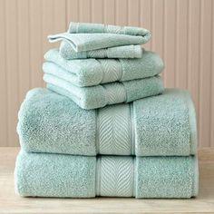 Better Homes and Gardens Thick and Plush 6-Piece Cotton Bath Towel Set -  Walmart 1e416770fb911