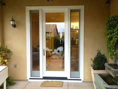Marvelous Exceptional Patio French Doors With Sidelights #8 Single French Door With Side  Lights