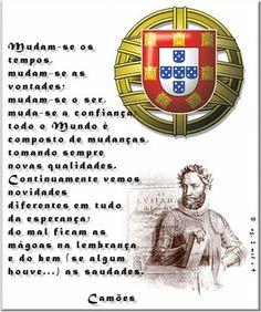Mudam-se os tempos, Mudam-se as vontades, de Luís Vaz de Camões
