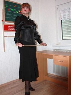 Strict mature discipline lady from
