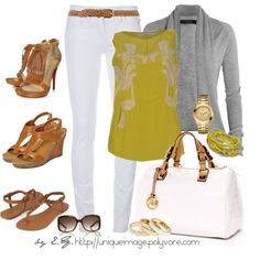 Yellow Floral Print Top - Polyvore