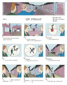 Audiovisuele Methode Nederlands / Les 6 : OP STRAAT (1)