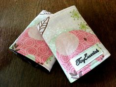Pink Elephant Infant Carseat Strap / Belt Covers by TinyEssentials, $8.00