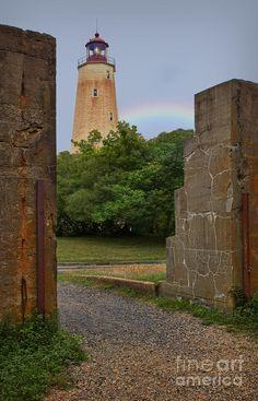 ✮ The historic Sandy Hook Lighthouse located in New Jersey RP by DCH Paramus Honda Team Leader CJ Slitas http://cj-slitas.dchparamushonda.com