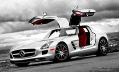 Modern SLS AMG  Doesn't compare to it's ancestors, but it's still one mean machine.