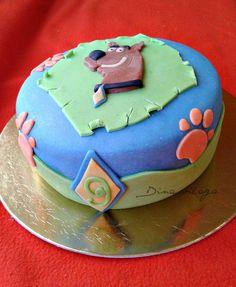 Scooby Doo Cake Gluten Free  http://dinavilaga.blogspot.hu/2013/10/scooby-doo-torta-glutenmentesen.html