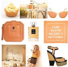 STAY IN PEACH, created by aizism on Polyvore