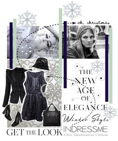 """""""Winter Time Look"""" by valeria-87 ❤ liked on Polyvore"""