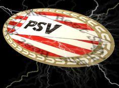 Dit is de logo van PSV.