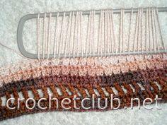 вязание кремового топа 1