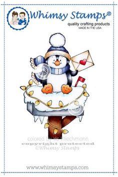 Penguin Happy Mail