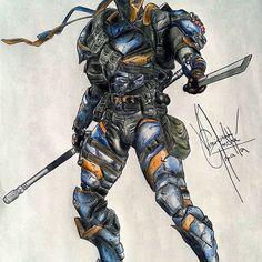 Desde 2014 #deathstroke #drawing #desenho #lapis #villain #batman…