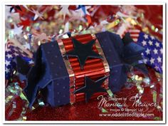 Fourth of July Firecracker Candy Wrapper