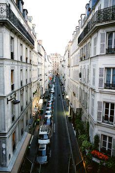Paris, France - Georgian Apartments with balconies…vive la France.