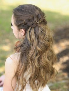 Half Down Half Up Braid Hairstyles Ideas