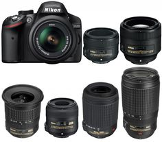 Nikon D3200 is an entry-level APS-C DX DSLR camera released in 2012. Nikon D3200 is very popular in the world. Today, we are going to showing you recommende