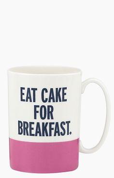 eat cake for breakfast! #yolo