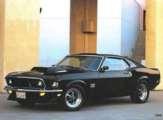 The 1969 Ford Mustang Boss 429 / The Mustang of all Mustangs