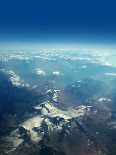 Berg, Airplane View