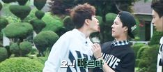 Jackson: WTF Youngjae EWW! How could you Youngjae:*just laughing*