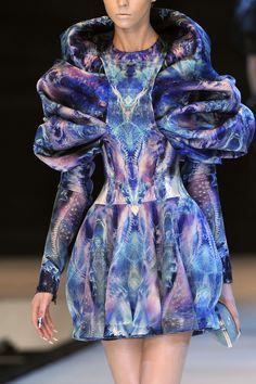 Alexander McQueen at Paris Fashion Week Spring 2010 - StyleBistro