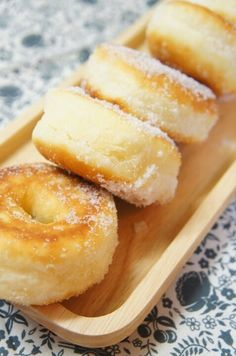 Donut Recipes, Sweets Recipes, Cake Recipes, Cooking Recipes, Donuts, Homemade Sweets, Asian Desserts, Cafe Food, Sweet Cakes