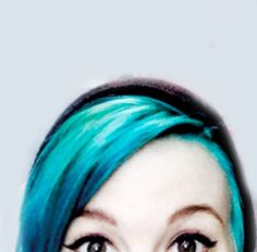 She is so adorable!!! <3 I still love her red hair but i have no objections to the blue its awesome too