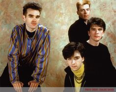 The Smiths ― photo by Chalkie Davies (1984).