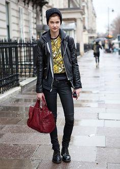 London Fashion Week autumn/winter 2012: street style - Fashion Galleries - Telegraph