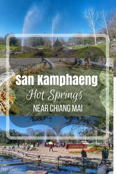 Chiang Mai, Thailand Things To Do: It's fun to take a quick trip to San Kamphaeng and enjoy the hot springs near Chiang Mai, Thailand. Take a look at some of our tips and suggestions to make your visit more enjoyable. https://togethertowherever.com/san-kamphaeng-hot-springs-chiang-mai/i/