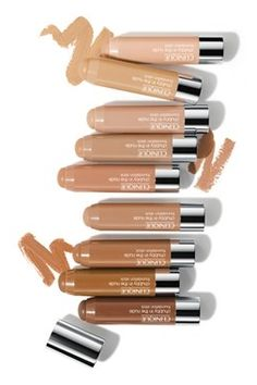 These foundation sticks are basically perfection on the go! How to use: Draw several strokes of foundation across the forehead, cheeks, chin and down the bridge of your nose. For sheerer coverage, fingertip-blend to a seamless finish. For moderate coverage, use a buffing brush to buff foundation into skin using light, circular motions.