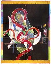 Pergusa Three by Frank Stella