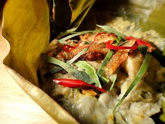 Fish Amok - cambodian style - wanna make this for my bf who has been travelling around Cambodia and loved this! :)