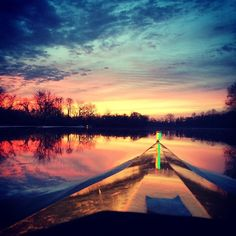 Bow Loaded - row2k Rowing Picture of the Day from row2k