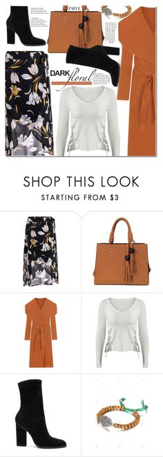 """""""In Bloom: Dark Florals"""" by duma-duma ❤ liked on Polyvore featuring WearAll, Alexander Wang and darkflorals"""