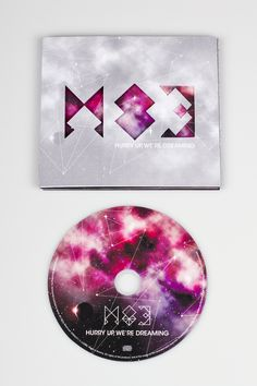 M83 CD cover – redesign by Henrik Steen Karlsen, via Behance