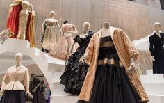 Fashion Exhibition in Paris at the Musée des Arts Décoratifs - Including Dior's famous New Look