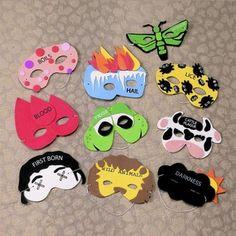 10 plagues masks