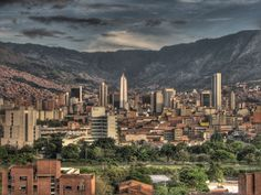 A renaissance through architecture has been unfolding throughout the past several years in Colombia's second largest city – Medellin. Cheapest Places To Live, Best Places To Travel, Places To Visit, Fajardo, Seattle Skyline, Paris Skyline, New York Skyline, Travel Dating, Amazon Rainforest
