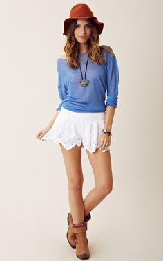 Nightcap Spanish Fan Short...I like the shorts and the shirt combo. I'd do away with the hat and boots.
