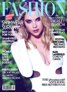 #Styled by Heidi Meek / #AshleyBenson on the cover of the Summer 2015 issue of FASHION Magazine / #Photography by Gabor Jurina #HeidiMeek #PrettyLittleLiars #FASHIONMagazine #fashion #editorial #GaborJurina