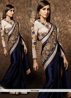 Based in India .love this sari