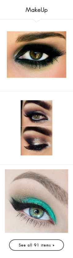 """""""MakeUp"""" by harley-quinn29 ❤ liked on Polyvore featuring beauty products, makeup, eye makeup, eyes, beauty, maquiagem, black makeup, kohl makeup, black eye makeup and eyeshadow"""