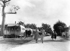 1948 View of the Sarasota Trailer Park - Sarasota, Florida