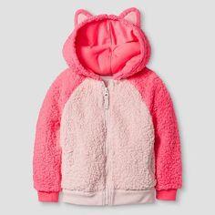 Toddler Girls' Sweatshirt Parlor Pink - Cat & Jack™