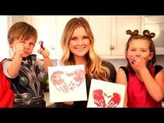 Kids Valentine's Day Crafts!!
