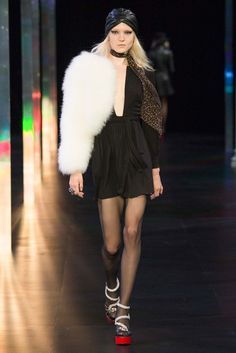 HAUTE COUTURE - Saint Laurent Spring 2015 Ready-to-Wear