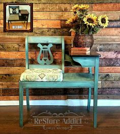 Peacock Chalk Mineral Paint is part of Furniture makeover - chalk paint, blue, peacock Refurbished Furniture, Paint Furniture, Repurposed Furniture, Shabby Chic Furniture, Furniture Projects, Rustic Furniture, Furniture Makeover, Vintage Furniture, Modern Furniture