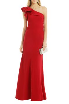 All Eyes On You Gown by Carmen Marc Valvo ($745 retail or rent for $70) | Rent The Runway