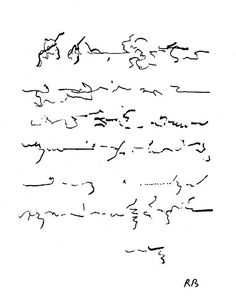 drawings on Writing Roland Barthes 1915-1980 Contre écriture adressée a R. Sulger-Buel